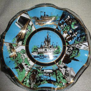 Vintage Walt Disney World Magic Kingdom dish